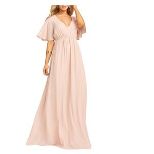 Show Me Your Mumu Emily Maxi Dress Dusty Rose
